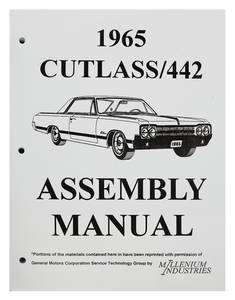 1963-1963 Cutlass Factory Assembly Line Manuals