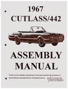 1967 Cutlass Factory Assembly Line Manuals