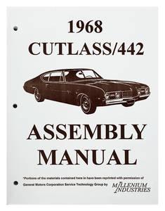 1968-1968 Cutlass Factory Assembly Line Manuals