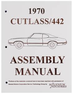 1970-1970 Cutlass Factory Assembly Line Manuals
