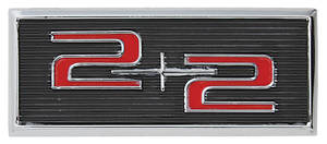 1964-65 Door Panel Emblem Catalina 2+2