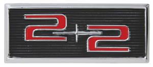 """Deck Lid Emblem, 1964 Catalina """"2+2"""""""