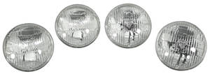 1968-70 Chevelle Headlights, Authentic Guide 5-3/4""