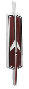 1965-1965 Cutlass Hood Emblem, 1965 Cutlass/4-4-2 (Rocket)