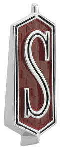 """Fender Emblem, 1968-70 Cutlass """"S"""""""