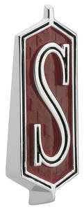 """Cutlass/442 Fender Emblem, 1968-70 Cutlass """"S"""""""