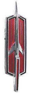 Cutlass Hood Emblem, 1969-70 Supreme (Rocket)