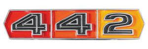"""1967-1967 Cutlass Fender Emblem, 1967 """"4-4-2"""""""