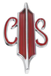 """Cutlass/442 Trunk Emblem, 1967 Cutlass Supreme & 4-4-2 """"CS"""""""