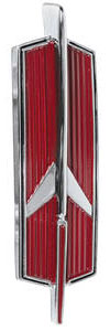 1966-1967 Cutlass Deck Lid Emblem, 1966-67 Rocket