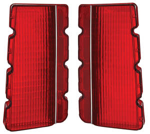 1966-1966 Cutlass Tail Light Lens, 1966 4-4-2