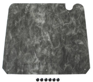 1964-1965 Cutlass Hood Insulation (Includes the Fasteners), by Repops