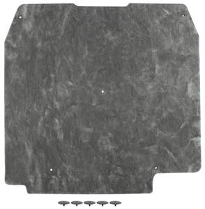 1966-1966 Cutlass Hood Insulation (Includes the Fasteners), by Repops