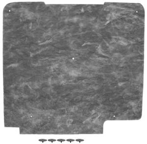1967-1967 Cutlass Hood Insulation (Includes the Fasteners), by Repops