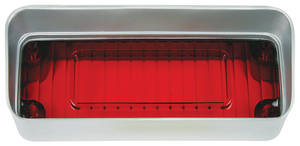1971-1971 Cutlass Tail Lamp Lens, 1971 Outer Lower Outer