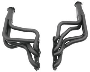 1965-1972 Cutlass/442 Headers, Competition 400-455, Black