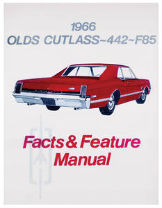 1966-1966 Cutlass Illustrated Facts Manual
