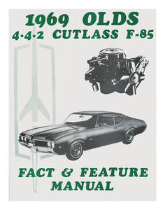 1969 Cutlass Illustrated Facts Manual
