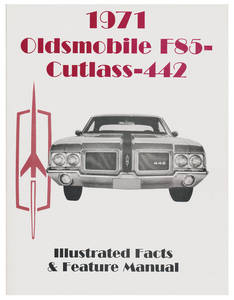 1971-1971 Cutlass Illustrated Facts Manual