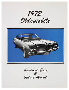 1972-1972 Cutlass Illustrated Facts Manual
