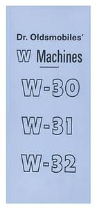 Dr. Olds W-Machine Sales Catalog