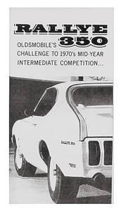 1970-1970 Cutlass Sales Folder, 1970 Oldsmobile Rallye 350