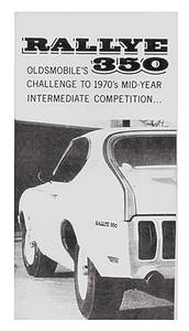 Sales Folder, 1970 Oldsmobile Rallye 350