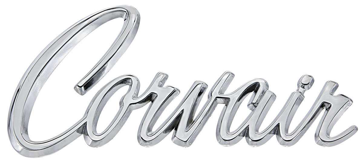 emblem  hood  deck lid  1965