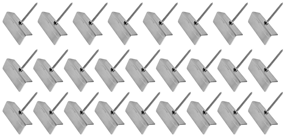 Photo of Corvair Door Panel Installation Kits nail style clip (12-piece)