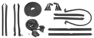 1957-58 Cadillac Weatherstrip Kit, Stage II (Convertible) Except Eldorado