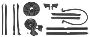 1974-1976 Cadillac Weatherstrip Kit, Stage I (Convertible) (Eldorado)