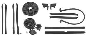1974-76 Cadillac Weatherstrip Kit, Stage I (Convertible) (Eldorado)