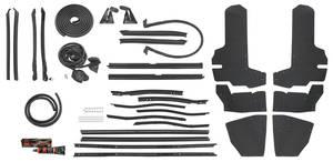 1971-73 Weatherstrip Kit, Stage II (Convertible) Eldorado (OE)