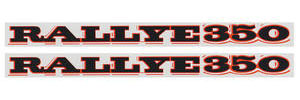 1970-1970 Cutlass Quarter Panel Decal Rallye 350
