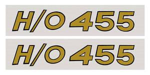 1969 Cutlass/442 Hood Scoop Decals