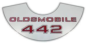 1964 Cutlass/442 Air Cleaner Decal 4-4-2