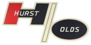 1972-1974 Cutlass Quarter Panel Decal Hurst/Olds