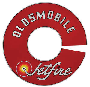 1964-1964 Cutlass Air Cleaner Decal Cutlass 330 Jetfire