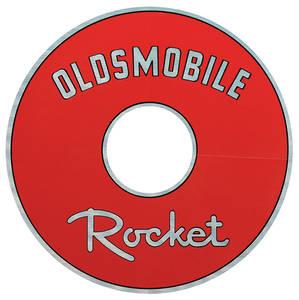 "1964 Cutlass Air Cleaner Decal Rocket 7-1/2"" (Red)"
