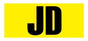 "1969-1969 Chevelle Engine Code Designation Decal 396/375 ""JD"", by RESTOPARTS"