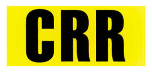 "1970 Monte Carlo Engine Code Designation Decal: LS-6 454/450 HP - ""CRR"" (Automatic Transmission)"