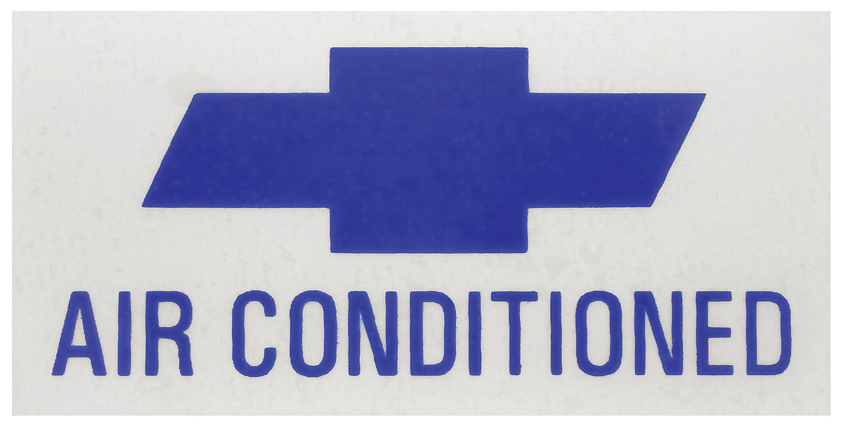 Photo of Air Conditioning Decal