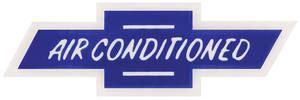 1964-65 El Camino Air Conditioning Decal