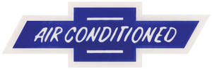 1964-65 Chevelle Air Conditioning Decal