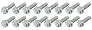 1970-1972 Monte Carlo Intake Manifold Bolt Set, Original Style (Big-Block, For Aluminum Intake Manifold)