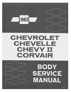 1965 El Camino Fisher Body Manual