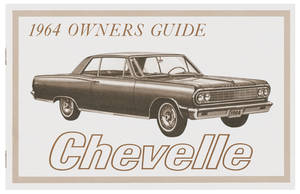 1964 El Camino Owners Manuals, Authentic