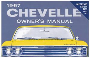 1967 El Camino Owners Manuals, Authentic