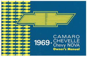 1969 El Camino Owners Manuals, Authentic