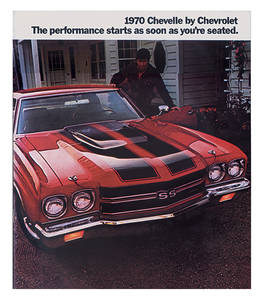 1970 Chevelle Showroom Brochure